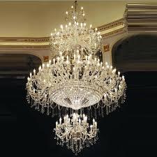 large crystal chandelier bohemian