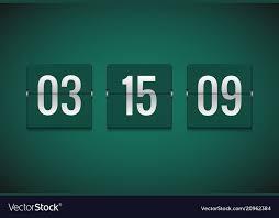 Countdown Timer Clock Counter Flip Timer