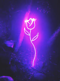 Neon Purple Wallpaper - NawPic