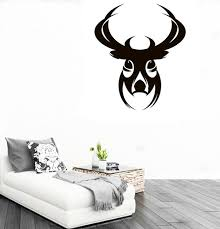 Small Picture Aliexpresscom Buy CaCar New DIY Design Deer Head Wall Sticker