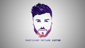 How To Design A Logo Using Adobe Photoshop Photoshop Tutorial Galaxy Logo Design Adobe Photoshop