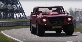 1990 Lamborghini LM002 Review by Jay Leno Will Make You Fall in ...
