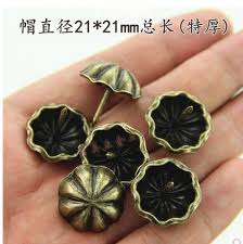 decorative nails for furniture. upholstery nails jewelry gift case box door sofa furniture decorative tack stud pushpin hardware 21mm for f