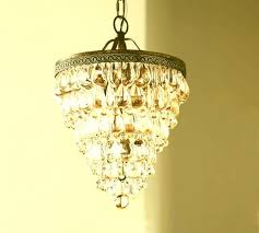 pottery barn gold chandelier clarissa crystal drop small round chandelier c plans