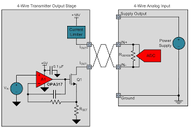 designing output isolated 4 wire sensor transmitters precision 4 wire sensor transmitter output stage design
