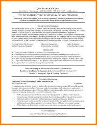 5 Teacher Resume Formats Phoenix Officeaz