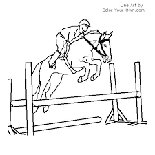 horses jumping coloring pages. Exellent Horses Horse Jumping Coloring Pages  Free  Inside Horses Jumping Coloring Pages R