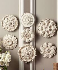 awesome shabby chic medallions wall art awesome shabby chic style