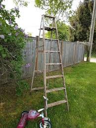 8 foot wooden ladder 8 foot wooden ladder 8 foot wooden step ladder for