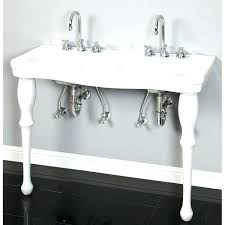 vintage console sink medium size of sink with metal legs elegant console tables sinks lavatory table
