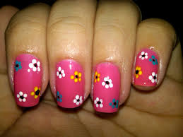 Flower Designs For Nails
