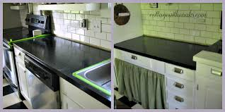 diy carrera marble painted kitchen countertops for concrete countertops diy