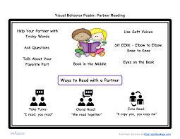 Visual Behavior Poster Udl Strategies Goalbook Toolkit