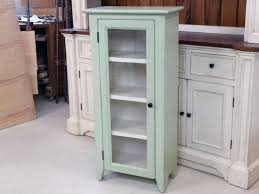 bookshelf painted hutch shabby cabinet cottage chic jelly cabinet cottage kitchen bathroom cabinet