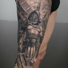 Tattoo Done By Brian Flores Gladiator Gladiador Gladiatortattoo
