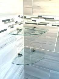 shower shelf glass glass shower shelves glass corner shelves tile shower