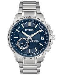 citizen men s eco drive satellite wave world time gps stainless citizen men s eco drive satellite wave world time gps stainless steel bracelet watch 44mm cc3000
