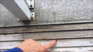 how to clean your sliding glass door track you
