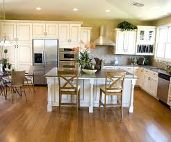 kitchen resplendent antiqued white kitchen island with granite top and two stools also round glass