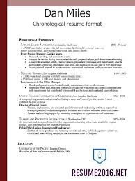 Chronological Resume Vs Functional Resume 43 New What Is A