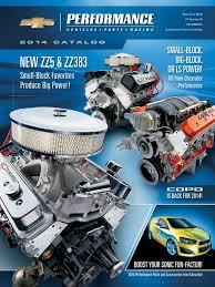 2014 Chevrolet Performance Catalog | Automotive Industry | Motor ...