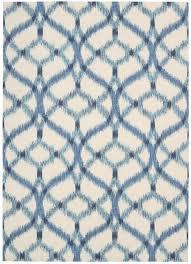 nourison indoor outdoor sun shade ikat pattern aegean rug 7 x10 by