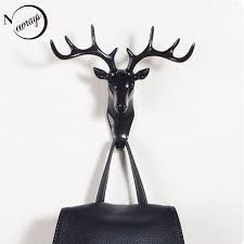 nordic creativity wall hooks black