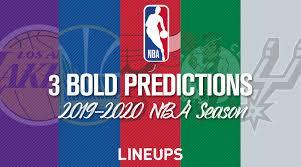 Nba Depth Charts 2014 3 Bold Predictions For The 2019 2020 Nba Season