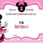 New Baby Minnie Mouse Invitation Template Aestelzer Photography