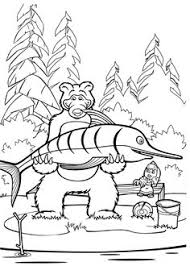 Small Picture colouring masha and the bear coloring pages printable Libe