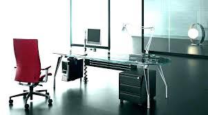 home office glass desks. Modern Glass Desk Top Home Office Furniture Lovely Executive Desks