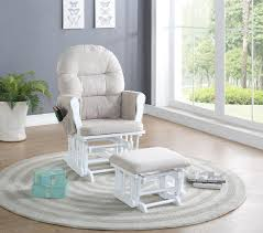 nursing chair glider rocker ottoman baby furniture rocking seat t feeding