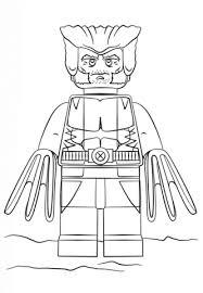 Small Picture Lego Wolverine coloring page Free Printable Coloring Pages