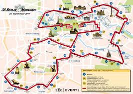 map of the 2011 berlin marathon course 2011 berlin marathon Berlin Sites Map map of the 2011 berlin marathon course berlin tourist sites map