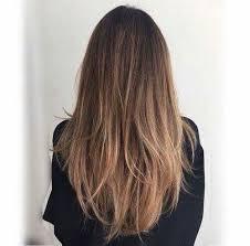Coiffure Femme Degrade Cheveux Long Chatain Dégradé