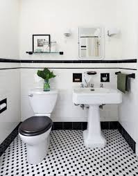 ideas black and white bathroom tiles image credit