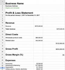 Profit And Los Need Help With Your Profit Loss Statement Download Our