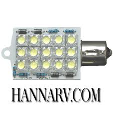 diamond 52602 bayonet style base led light bulb 15 diode