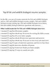 Sample Wildlife Biologist Resume Sample Resume For Entry Level Tax