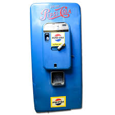 Pepsi Vending Machine Serial Number Magnificent Vintage PepsiCola Vending Machine EBTH