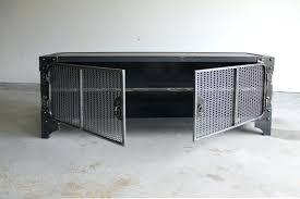 industrial media furniture. Metal Media Cabinet Modern Industrial Console Steel Stand Vintage Entertainment Center Audio Retro Cabinets Storage Furniture )