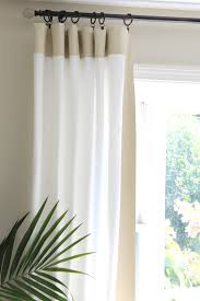 Decorations:Exquisite French Door Curtain Design With Cool Blue Color Idea  Fabulous Cream And White