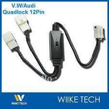 mp3 cdc promotion shop for promotional mp3 cdc on aliexpress com car mp3 cdc switch cable for vw audi skoda seat 12pin quadlock cd changer y vw12p