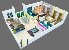 3d house plans in 1000 sq ft escortsea