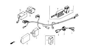 wiring diagram for 1986 honda trx 250 wiring diagrams best 1986 honda fourtrax 250 trx250r wire harness parts best kawasaki kx 80 wiring diagram schematic search