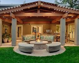 gorgeous traditional back patio designs with plait furniture also pouffe fireplace design patio designs a61 designs