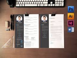 Resume Cv Cover Letter Resume Templates Creative Market With Resume