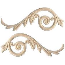wood furniture appliques. Appliques Embossed And Carved Wood In Oak Maple Cherry Intended For Furniture Onlays Uk R