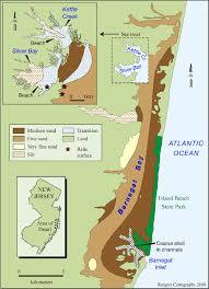 Barnegat Inlet Tide Chart 2016 Distribution Of Morpho Sedimentary Units In Barnegat Bay