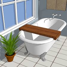 bath board clawfoot bathtub homeability